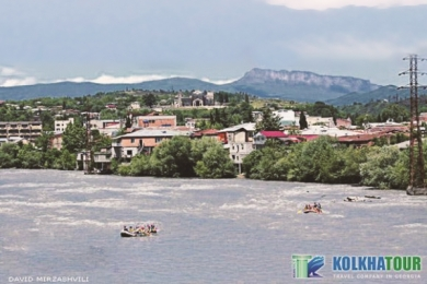 Rafting Kutaisi in river rioni